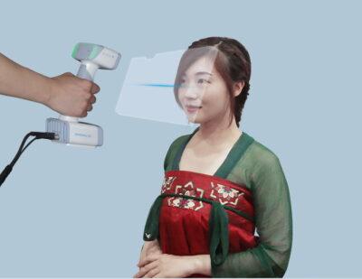 Escáner 3D Einscan H de Shining 3D